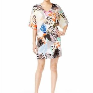 Bar III Printed Shift Dress